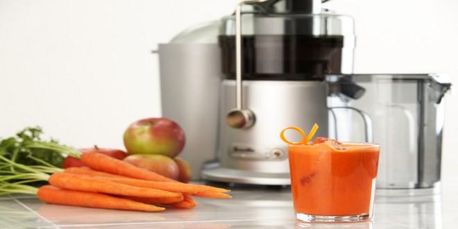 Wiki Juices - Breville JE98XL juicer carrot juice