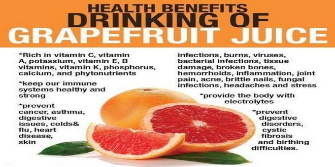 Wiki Juices - Health benefits of grapefruit juice