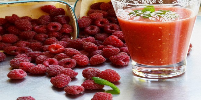 Wiki Juices - Nutrient Glossary L-W Fresh raspberry juice