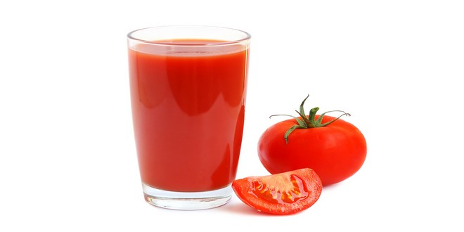Wiki Juices - Glass of tomato juice