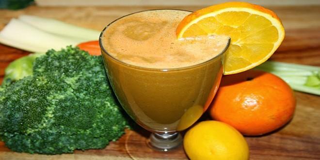 Wiki Juices - Broccoli orange juice