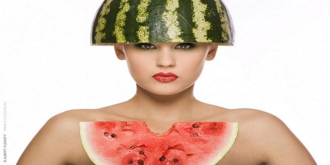 Wiki Juices - Watermelon beautiful girl (photo by Albert Plehoff)