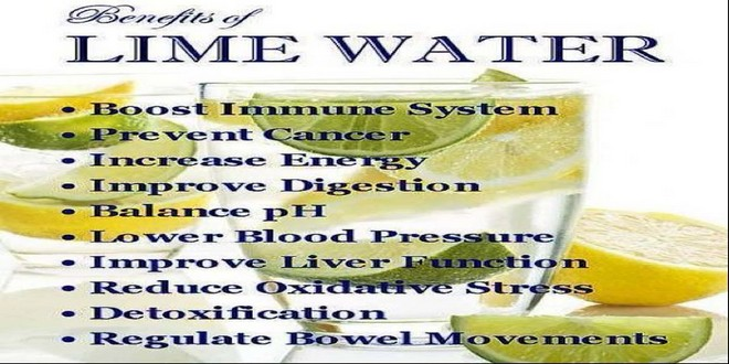 Wiki Juices - Lime water benefits