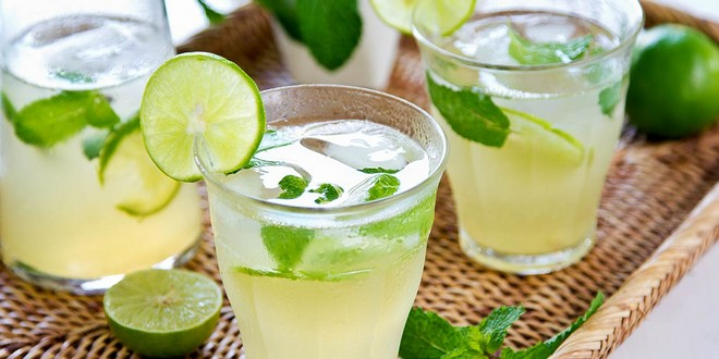 Wiki Juices - Lime juice with ice