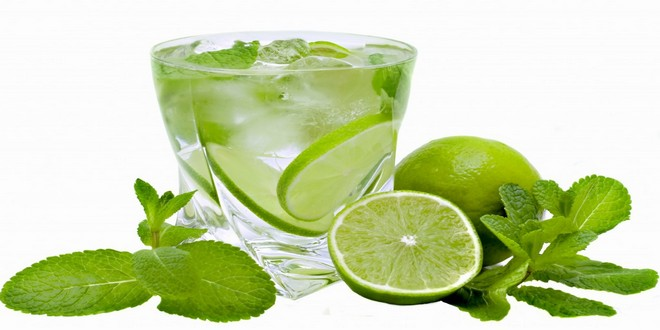 Wiki Juices - Lime juice with mint
