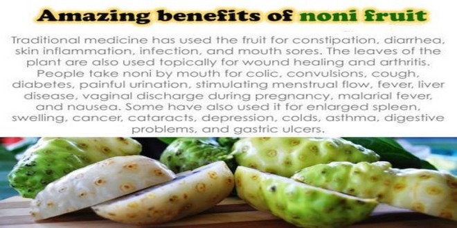 Wiki Juices - Benefits of Noni fruits