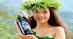 Wiki Juices - Noni juice tahitian girl