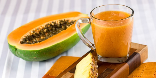 Wiki Juices - Papaya and Pineapple Juice