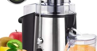 Wiki Juices - Mueller Juicer Extra Large Feeder Chute