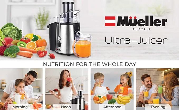 Wiki Juices - Mueller Ultra Juicer