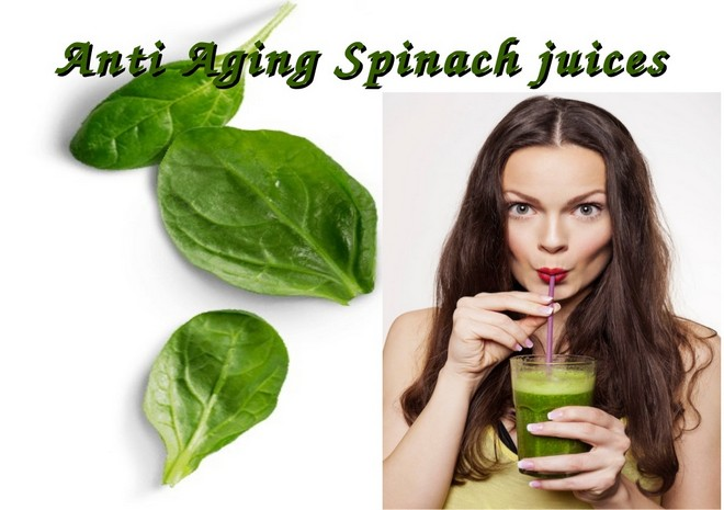 Wiki Juices - Spinach Juice Antiaging