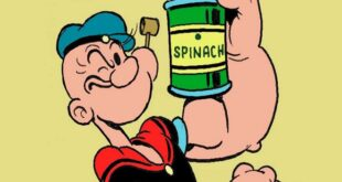 Wiki Juices - Spinach Juice Popeye the Sailor